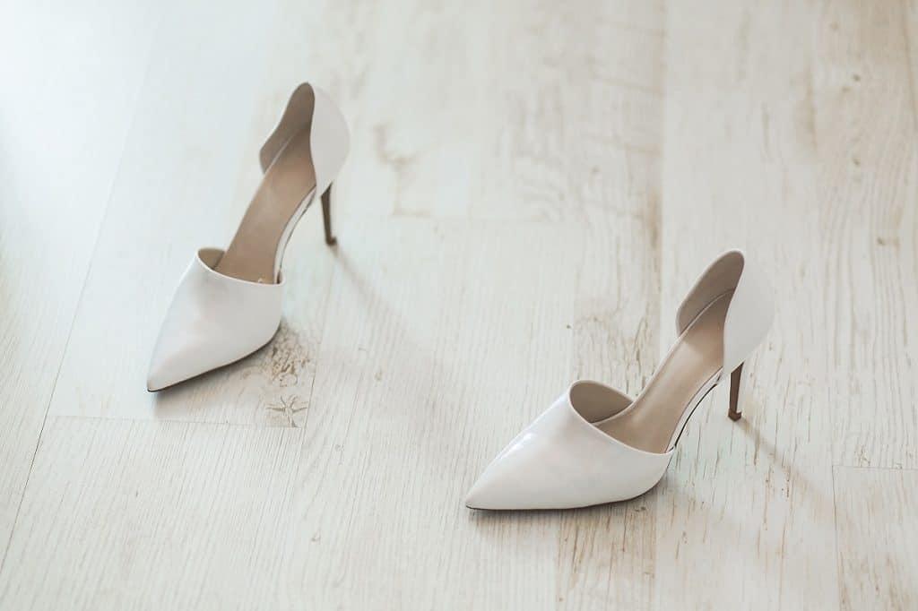Les chaussures de mariage