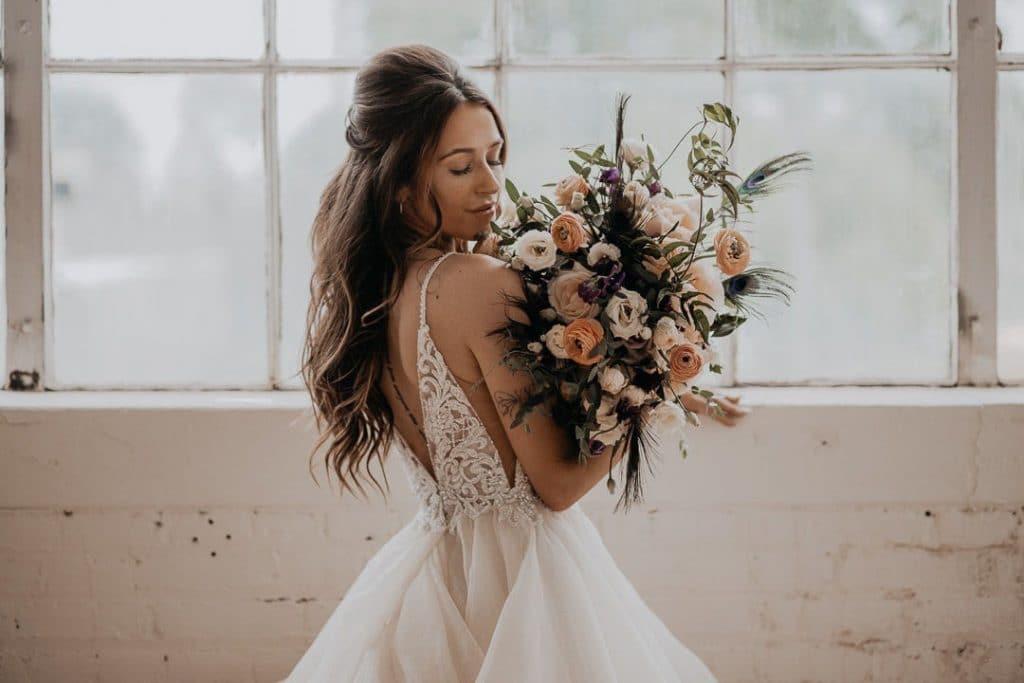 La tradition de la robe blanche de mariage