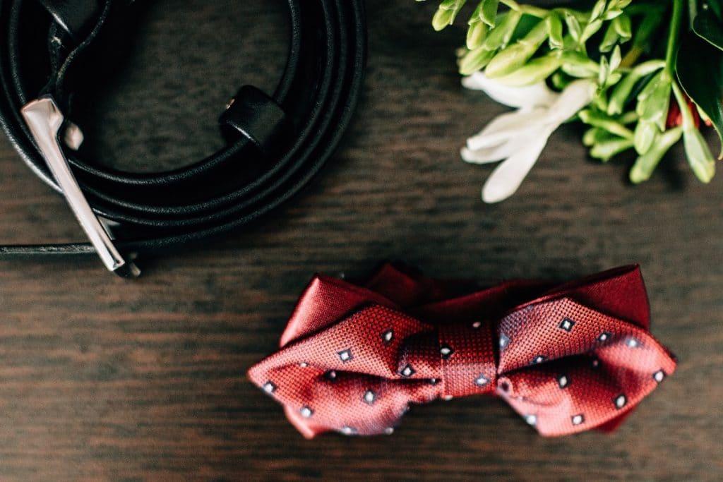 La ceinture pour le costume du marié