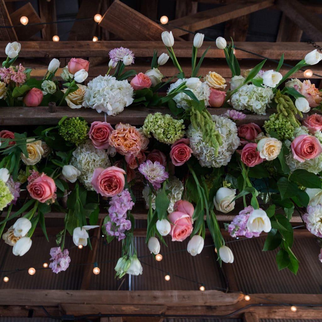 Les fleurs pour un mariage au printemps