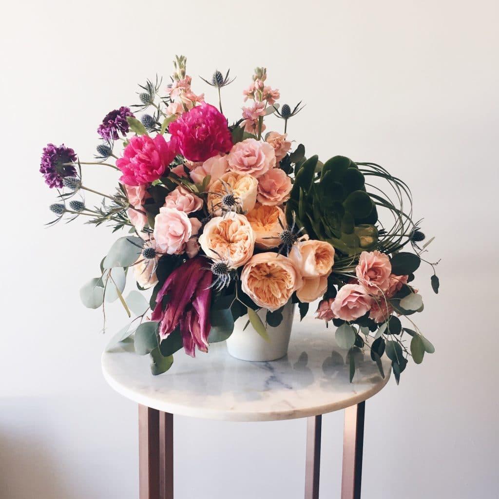 Les fleurs pour un mariage en automne