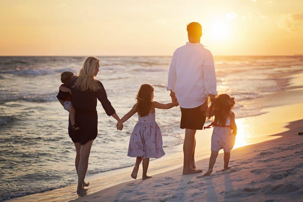 Partir avec vos enfants en voyage de noces