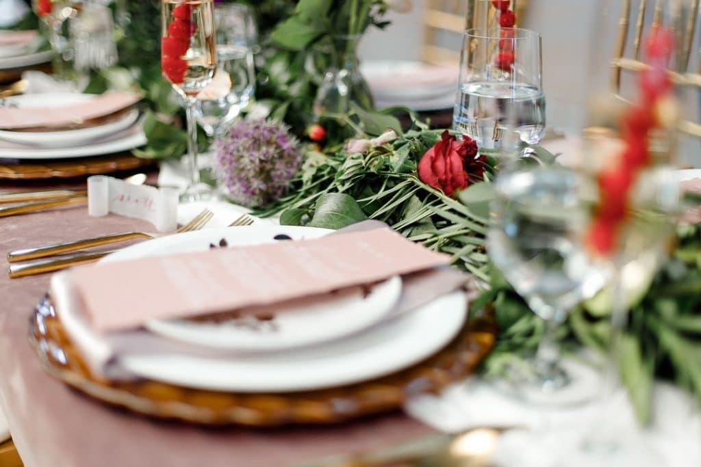 Proposer le menu aux invités