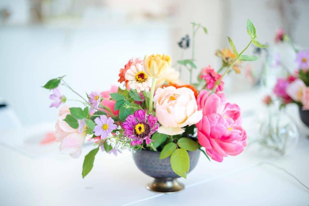 Penser aux fleurs
