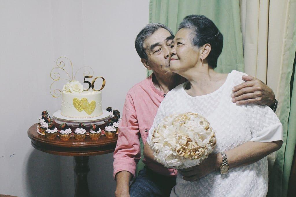 De 41 à 50 ans de mariage